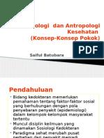 Pengantar Belajar Sosiologi Kesehatan