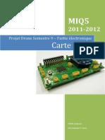 Projet Drone Partie électronique