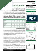 John Keells Holdings PLC (JKH) - Q3 FY 16 - BUY