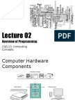 CSE115Lecture02OverviewOfProgramming