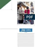 Agenda de Precursor 2015 2016