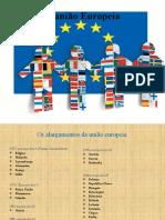 Países da União Europeia e o ano da