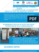 Congreso de Educación Del Litoral Norte_propedeu Version18112015