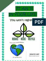 Didactic Unit. Sustainability