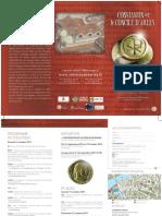 Programme Et Inscription Au Colloque Constantin Et Le Concile Darles