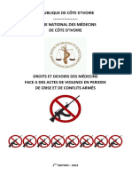 Livre-blanc - Droits et devoirs des Médecins en périodes de crise et conflits armés.