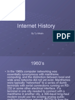 The History of Networking Presentation
