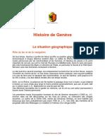 Histoire de Geneve