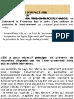 Etude D_impact Sur L_environnement