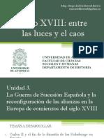 Unidad 3 La Guerra de Sucesión Española
