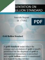 Gold bullion standard