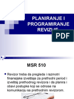 Jovana Ilić - Planiranje i Programiranje Revizije