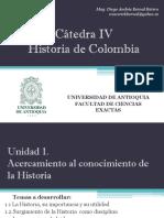 Cronograma de Clases y Exposiciones Cátedra IV