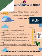 Presentación Nube informática.