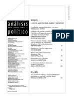 Análisis político No 57