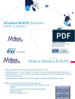 Wireless M-BUS Solutions and More
