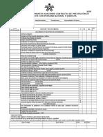 00 Lista de Chequeo Documentos 2016