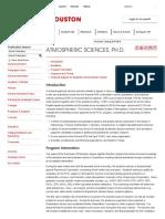 Program_ Atmospheric Sciences, Ph.D
