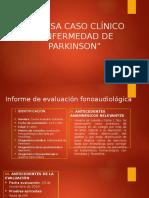 Caso Clínico E. PARKINSON
