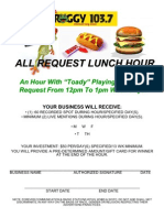 All Request Lunch Hour 2