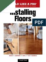 Joseph Truini - Installing Floors