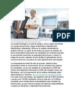 automatizacion sector salud