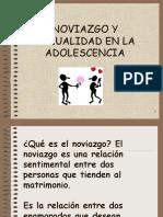Noviazgo y Sexualidad en La Adolescencia