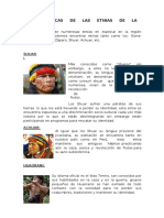 Etnias de La Amazonía