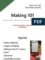 Making 101