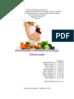 Informe de Nutricion