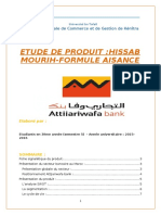 Etude de Produit Hissab Mourih Attijariwafa bank