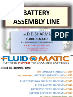 Battery Assembly Line Top