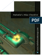Melodie's Codex Maps - Checklist