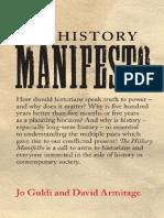 History Manifesto