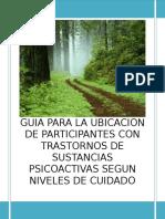 Guía Para La Ubicación de Participantes Co_ n Trastornos de Sustancias Psicoactivas