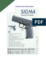Sigma Series Pistol