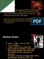 Abraham Maslow's Theory