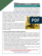 Charla Integral SSSE 110 - Temor Al Reporte de Incidentes