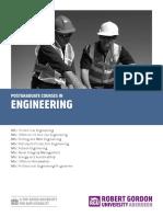 POSTGRADUATE COURSES IN ENGINEERING