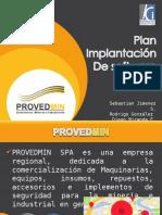 Plan de Implementación de software