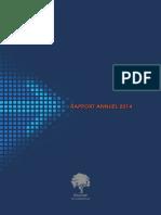 Rapport Annuel 2014- Bourse de Casablanca