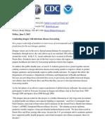 Dengue Forecast Press Release Final