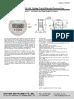 Especificaciones Tecnicas de Manometros1