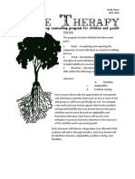 tree therapy lesson plans