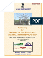 Handbook on Maintenance of Electrical General Service Sub-Station(1)