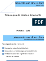 Letramentos Na Cibercultura