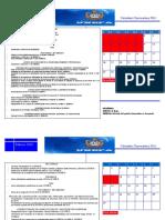 Calendario Academico 2016 Cuoa 001-2016