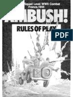 Ambush! Rules