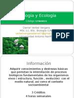 Biología y Ecología PRIMER CORTE