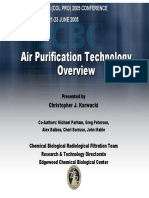 Air Purification Technology Overview